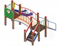 Детский игровой комплекс «Карапуз» ДИК 1.001.06 H=750