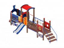 Детский игровой комплекс «Паровозик» ДИК 1.03.5.02 H=750