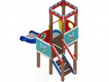 Детский игровой комплекс «Королевство» ДИК 1.15.01 H=900