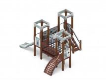 Детский игровой комплекс «Королевство» (Техно) ДИК 1.15.03-02 H=900