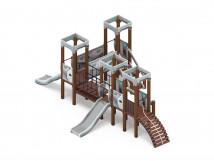 Детский игровой комплекс «Королевство» (Техно) ДИК 1.15.04-02 H=900