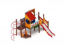 Детский игровой комплекс «Теремок» ДИК 2.07.01 H=1200