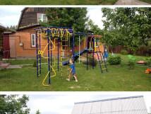 Уличный детский спортивный комплекс