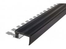 Закладной алюминиевый профиль под изгиб FlexStep