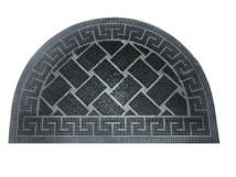 Входной резиновый шипованный коврик