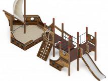 Детский игровой комплекс «Парусники» ДИК 2.03.3.02-01 H=1200