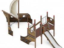 Детский игровой комплекс «Парусники» ДИК 2.03.3.01-01 H=1200