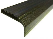 Алюминиевый окрашенный накладной угол-порог 42 мм/23 мм