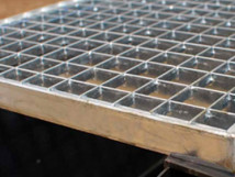 Входная грязезащитная решетка, ячейка 33х33, высота 30 мм