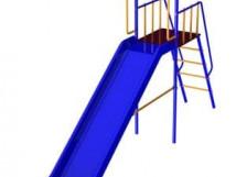 Дополнительный модуль с горкой (Длина горки 3,0 метра)