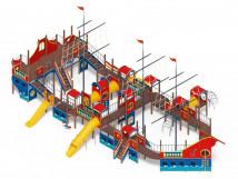Детский игровой комплекс «Баркетина» ДИК 2.03.3.06 Н=1200 Н=1500 Н=2000