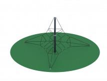 Пирамида (на резиновое покрытие) СК 2.05.05-РК (сетка)