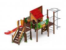 Детский игровой комплекс «Теремок» ДИК 2.07.01-01 H=1200