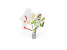 ИО 210 Качалка на пружине Космонавт