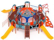 Детский игровой комплекс «Россия Космическая» ДИК 2.29.01 H=1200