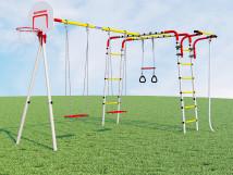 Детский спортивный комплекс для дачи Акробат - 2