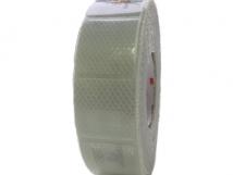 Белая световозвращающая лента 3M для мягких бортов.