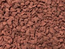 Каучуковая ЭПДМ крошка терракотового цвета (3016)