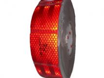 Красная световозвращающая лента 3M для мягких бортов.
