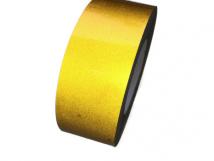 Желтая светоотражающая лента для маркировки