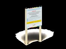 МФ 609 Информационный щит малый