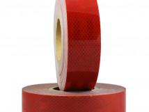 Красная светоотражающая лента