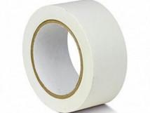 ПВХ лента для разметки и маркировки, белый цвет, 150 мкм