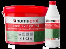Двухкомпонентный полиуретановый клей Homaprof 777 2K PU