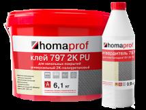 Двухкомпонентный полиуретановый клей Homaprof 797 2K PU
