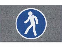 Для пешеходов, серый цвет, среднее зерно