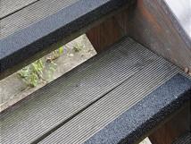 Противоскользящий профиль для краев ступеней, стеклопластик, 70х1000х30х3,8 мм, размер абразива 46 Grit, цвет черный