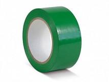 ПВХ лента для разметки и маркировки, зеленый цвет, 150 мкм