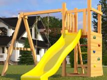 Детская площадка Савушка Мастер 6 с качелями