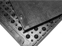 Маты Суперкомфорт с крепежом,интегрированный уклон в сторону прохода (резина)