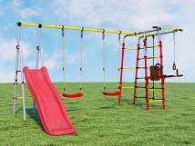 Детский спортивный комплекс для дачи Богатырь Плюс
