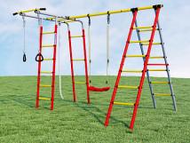 Детский спортивный комплекс для дачи Букварь-2