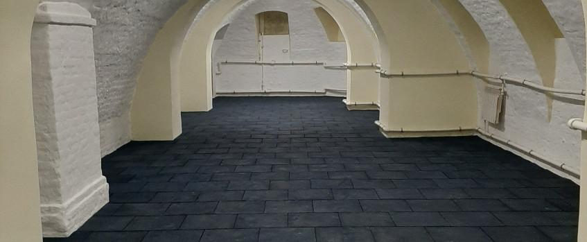 Резиновая плитка в тренажерный зал г.Архангельск