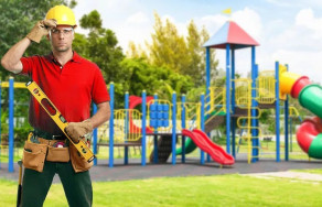 Установка детского игрового и спортивного оборудования