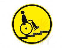 Пиктограмма G-10 Осторожно! Лестница вверх