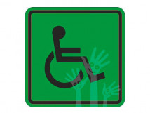 Пиктограмма G-01 Доступность для инвалидов всех категорий