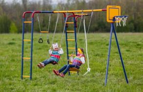 Новая линейка детских игровых комплексов