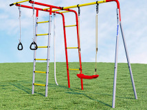 Детский спортивный комплекс для дачи Лесная поляна-2