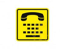 Пиктограмма СП-13 Телефон для людей с нарушением слуха.