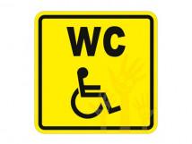 Пиктограмма СП-18 Туалет для инвалидов