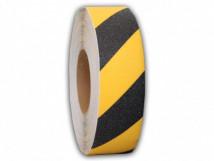 тип Basic, 60-Grit, недорогая противоскользящая лента, желто-черный цвет