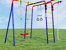 Детский спортивный комплекс для дачи Веселая лужайка - 2